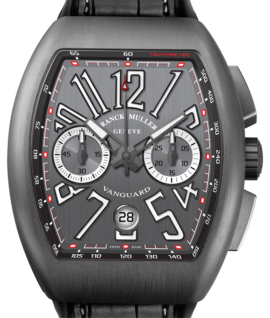 Franck Muller Vanguard Chronograph Watch Watch Releases