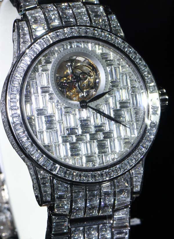 Full Pave: A Collection Of Diamond-Studded Swiss Watches