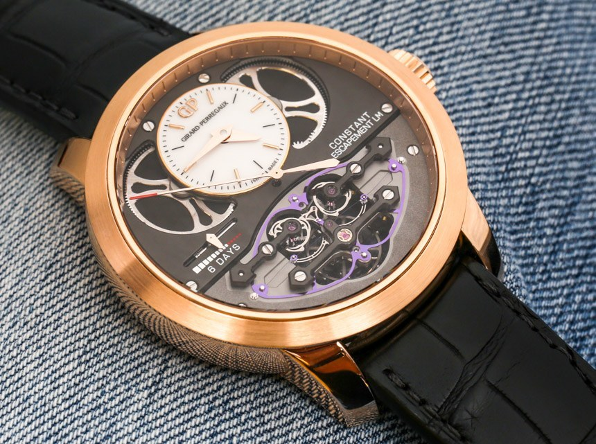 Girard-Perregaux Constant Escapement L.M. Watch In Pink Gold Hands-On