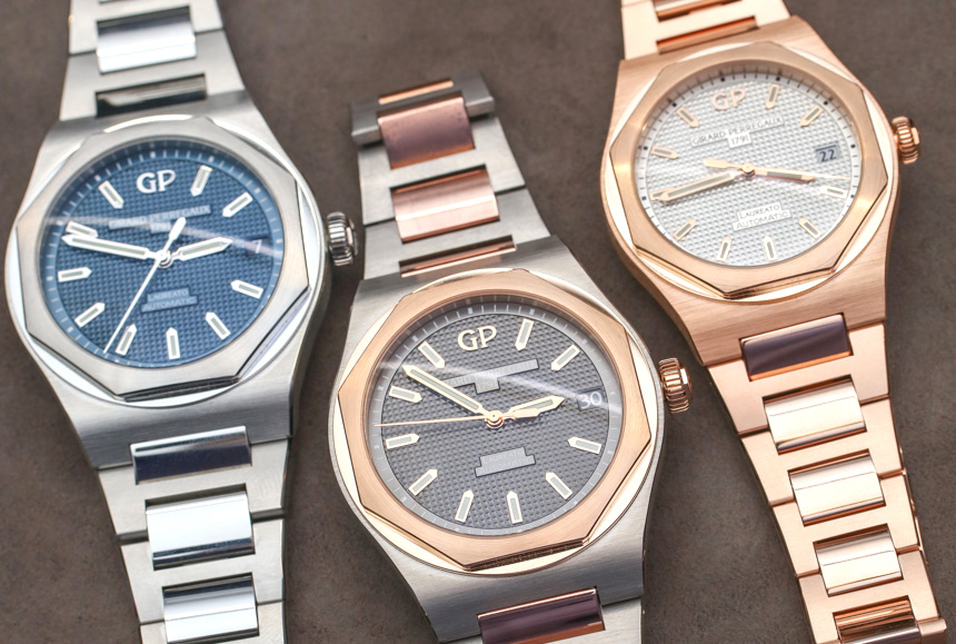 Girard-Perregaux Laureato Watches Hands-On: Upgraded Steel With Price Reduction & New Gold Options