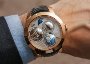 Girard-Perregaux Tri-Axial Planetarium Watch Hands-On Hands-On