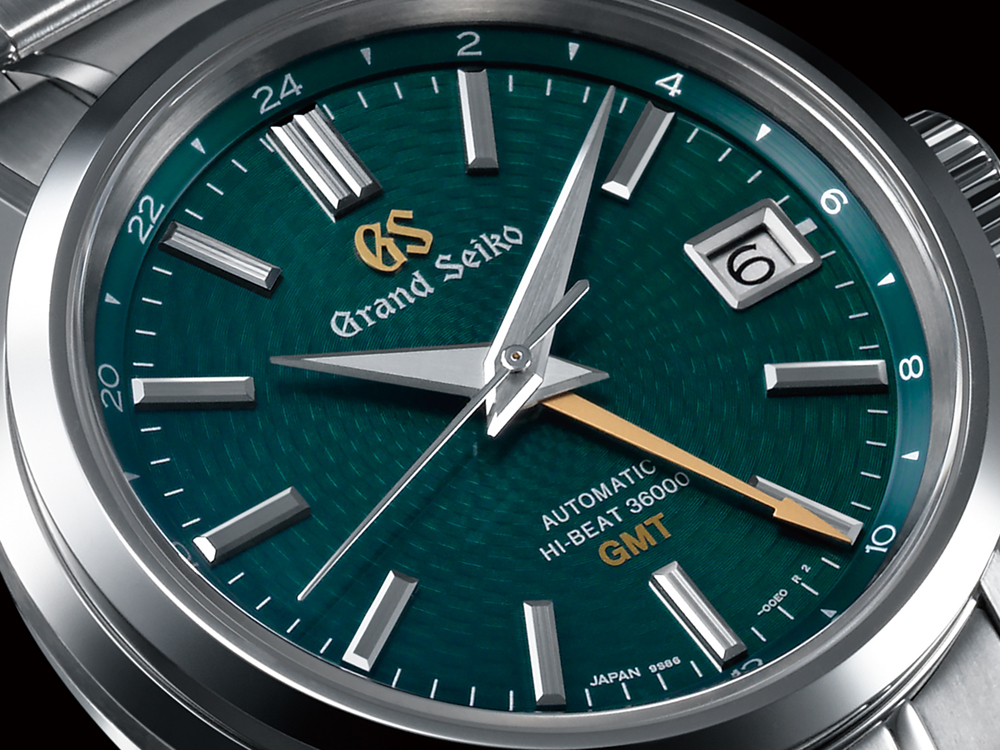 Grand Seiko Watch 7n43 Hi-Beat 36000 GMT Limited Edition SBGJ227 Watch Brings The Popular Green Dial GMT Back Watch Releases