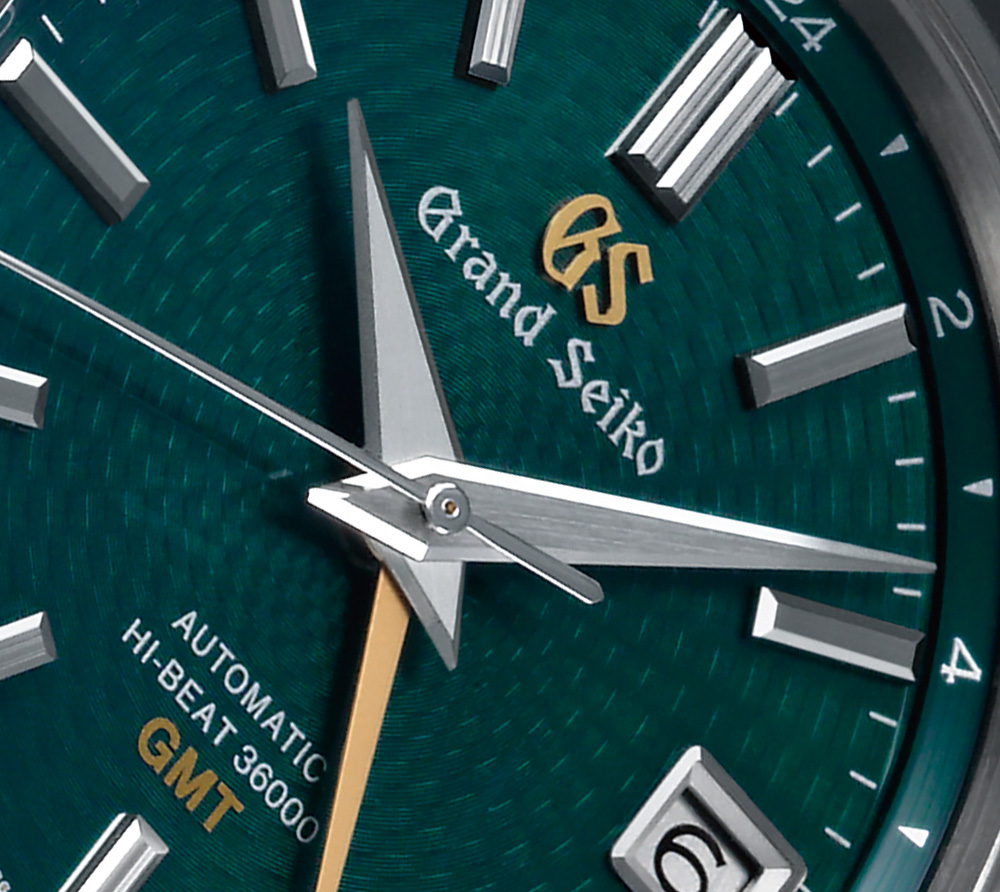 Grand Victorinox Vs Seiko Watches Hi-Beat 36000 GMT Limited Edition SBGJ227 Watch Brings The Popular Green Dial GMT Back Watch Releases