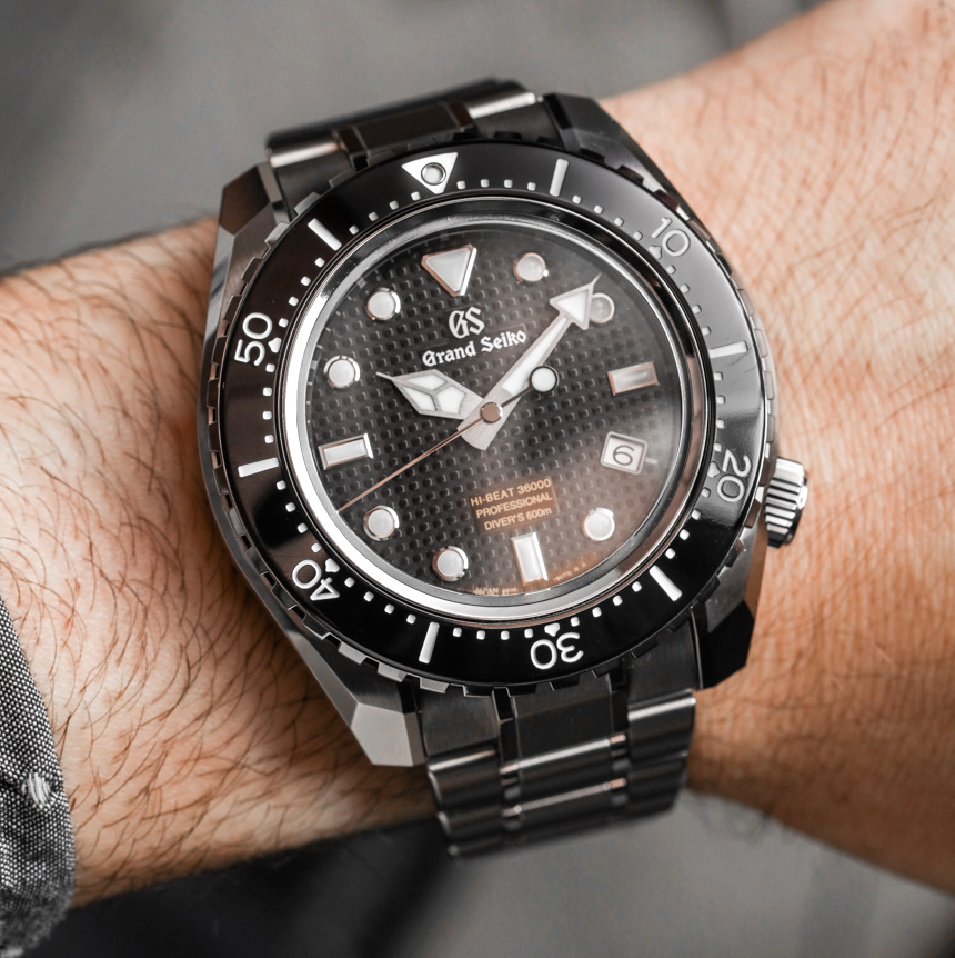 Grand Seiko Hi-Beat 36000 Professional 600m Diver's SBGH255 Watch Hands-On
