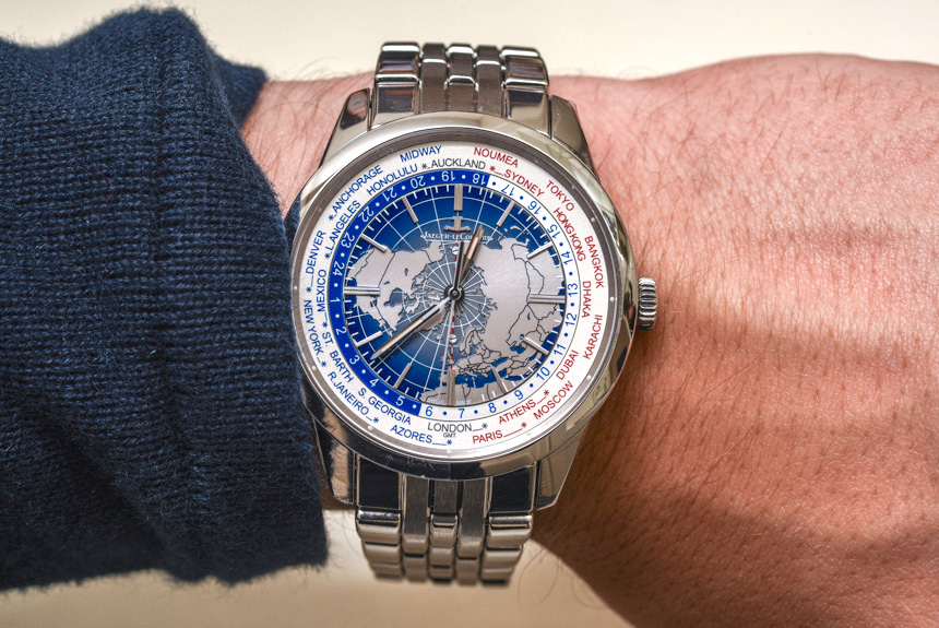 Jaeger-LeCoultre Geophysic Universal Time Watch On Bracelet Hands-On
