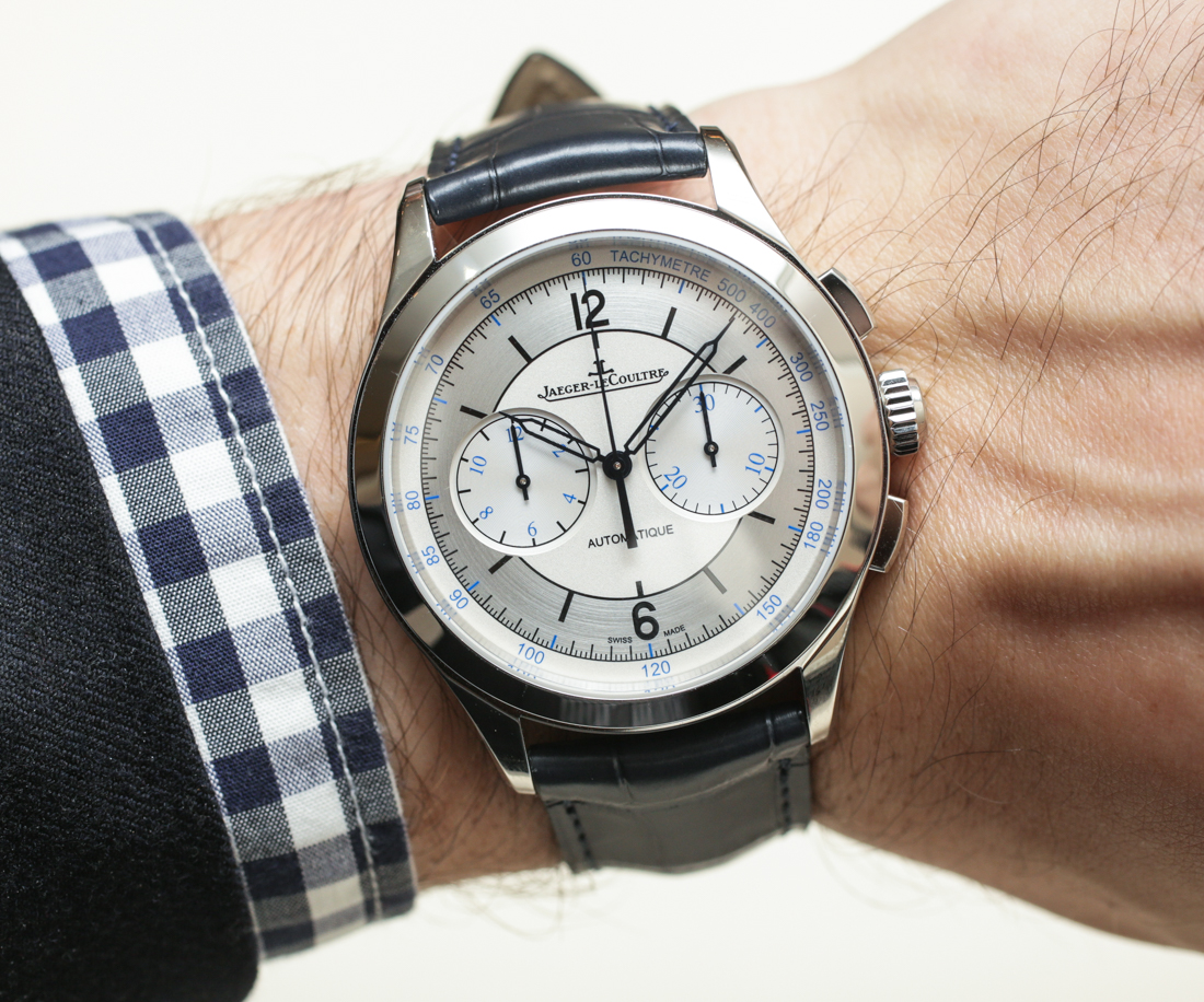 Jaeger-LeCoultre Master Control Date, Master Geographic, & Master Chronograph Steel Watches Hands-On