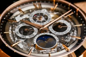 Montblanc Heritage Spirit Perpetual Calendar Skeleton Sapphire Dial Watch Hands-On Hands-On
