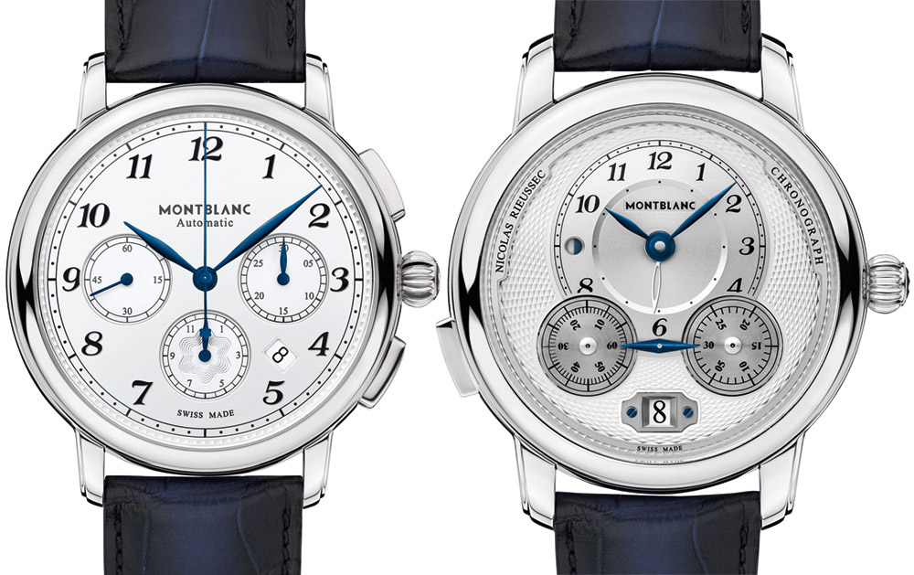 Montblanc Star Legacy Nicolas Rieussec & Star Legacy Automatic Chronograph Watches