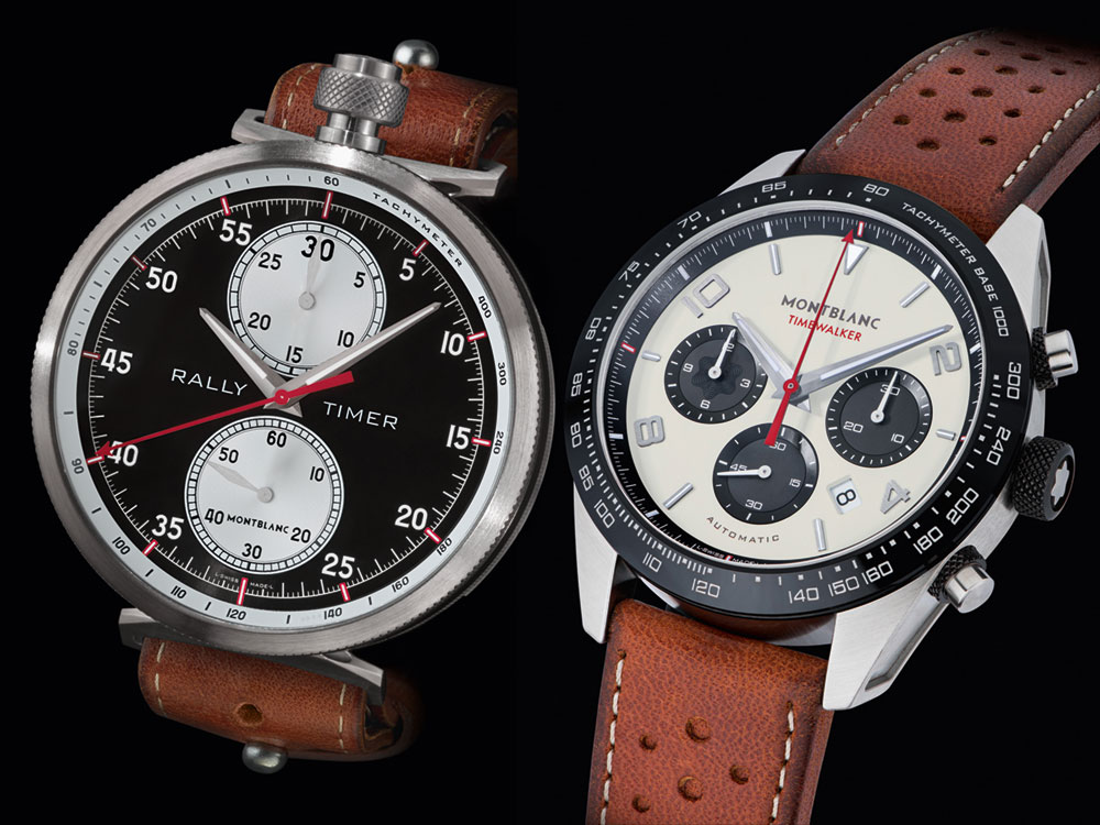 Montblanc TimeWalker Rally Timer Chronograph & Manufacture Chronograph Watches