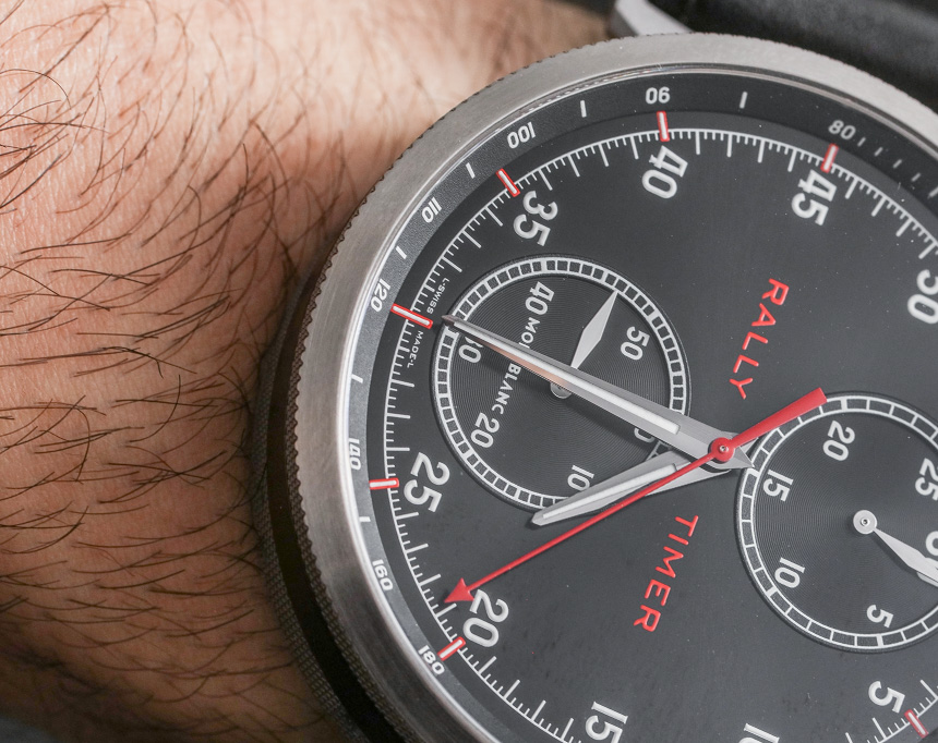 Montblanc Timewalker Rally Timer 100 Watch Hands-On Hands-On