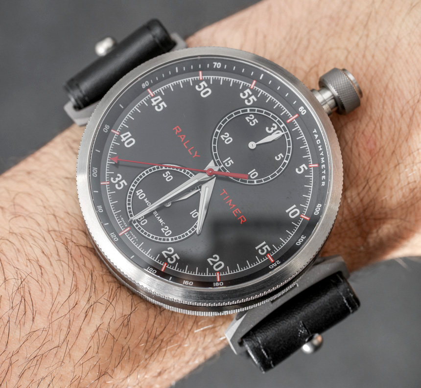 Montblanc Timewalker Rally Timer 100 Watch Hands-On