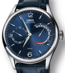 Oris Artelier Calibre 111 Blue Watch Watch Releases