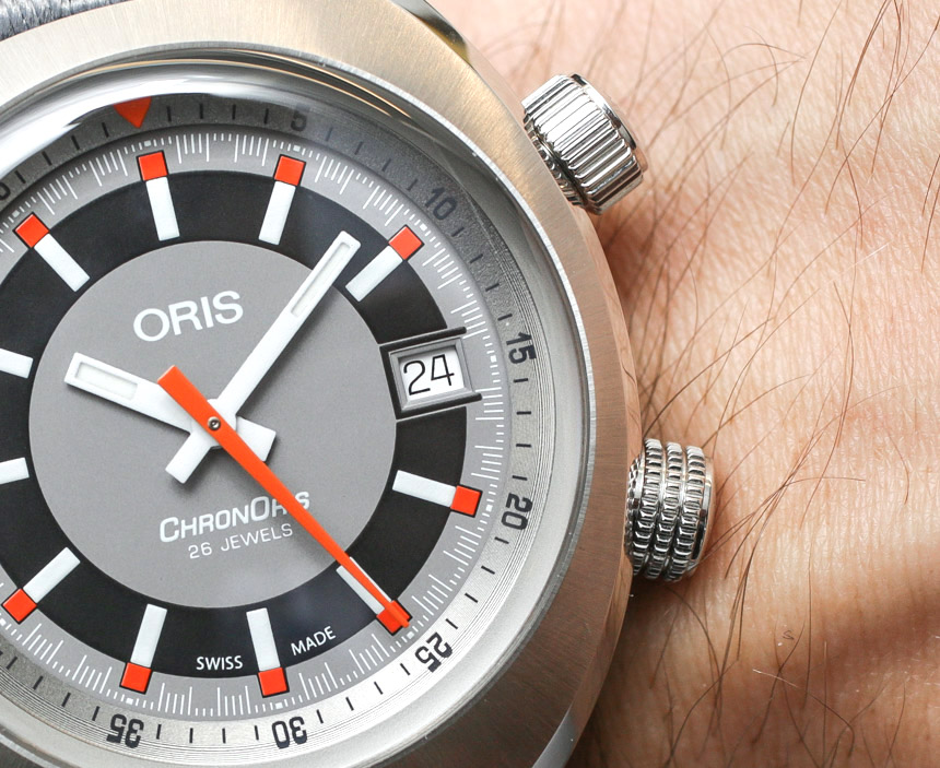 Oris Chronoris Date Watch Hands-On Hands-On