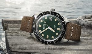 Oris Divers Sixty-Five Watch With Green Dial Watch Releases
