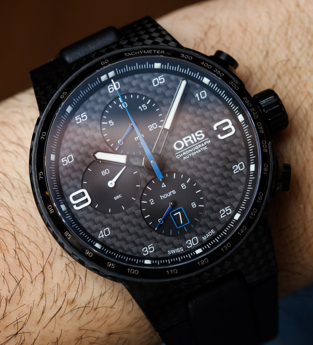 Oris Williams Chronograph Carbon Valtteri Bottas Limited Edition Watch Hands-On Hands-On