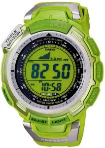 Casio PAG110C-3 'Go Green' Pathfinder Watch Watch Releases