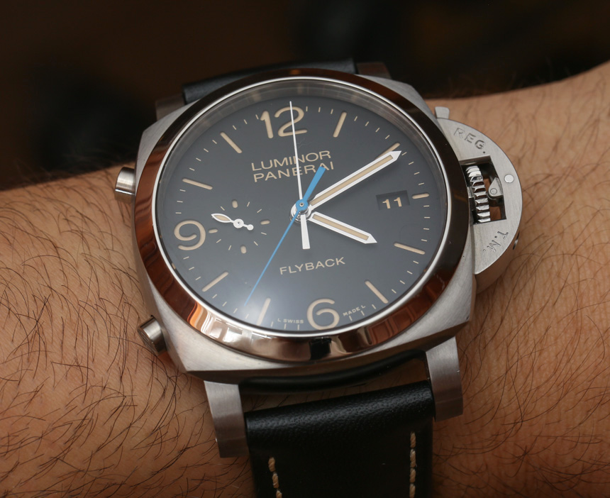 Panerai Luminor 1950 3 Days Chrono Flyback Automatic Acciaio PAM 524 Watch Hands-On