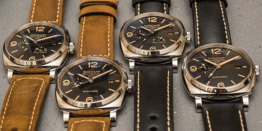 New Panerai Radiomir 1940 3 Days GMT Automatic Watches For SIHH 2016 Hands-On