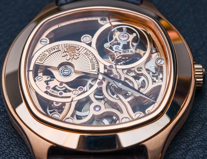 Piaget Emperador Cushion Tourbillon Automatic Skeleton Watch For 2015 Hands-On
