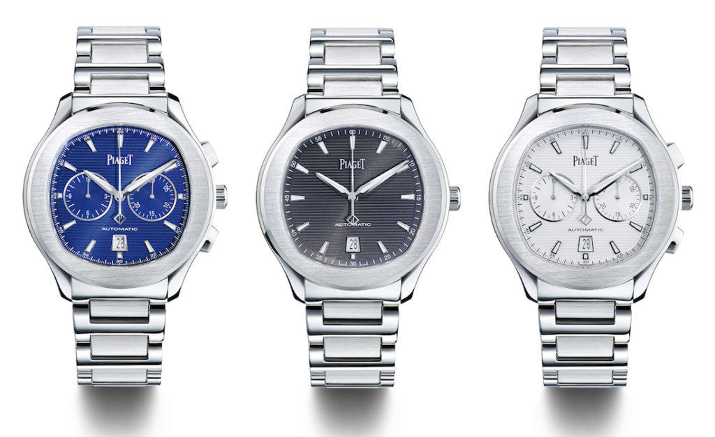 Piaget Polo S & Polo S Chronograph Watches: More 'Accessible' & Worn By Ryan Reynolds