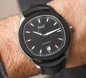 Piaget Polo S Limited Edition Black Watch On Rubber Strap Hands-On Hands-On