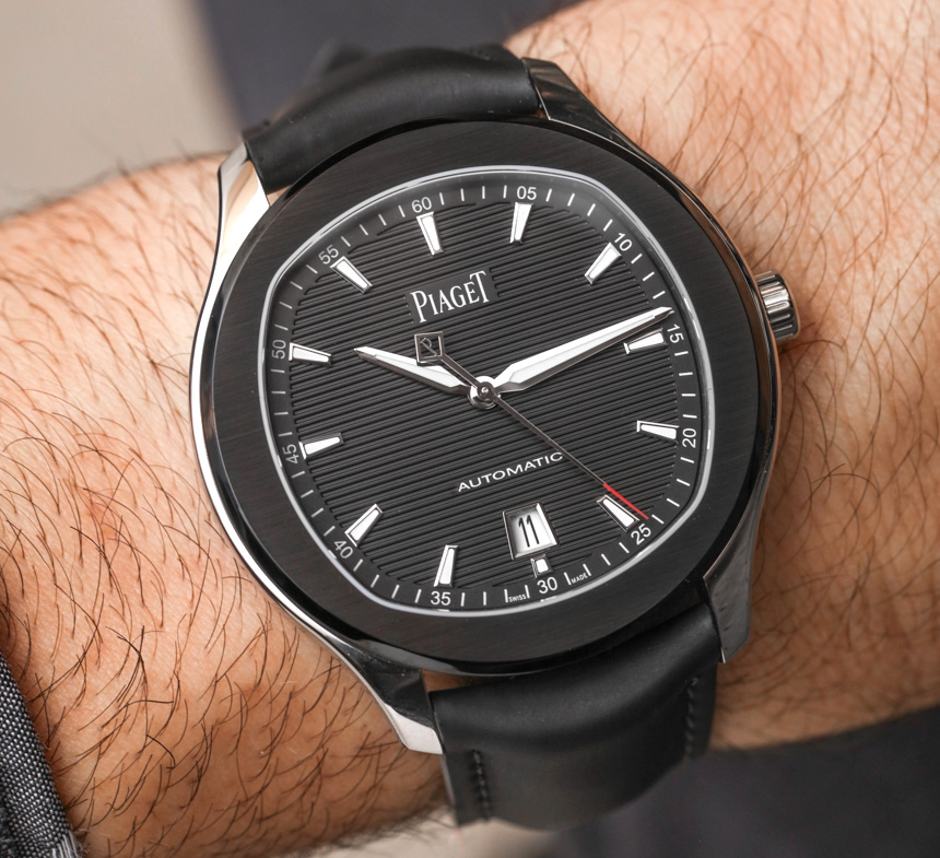 Piaget Polo S Limited Edition Black Watch On Rubber Strap Hands-On