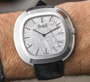 Piaget Vintage Inspiration Meteorite Dial Watch Hands-On Hands-On