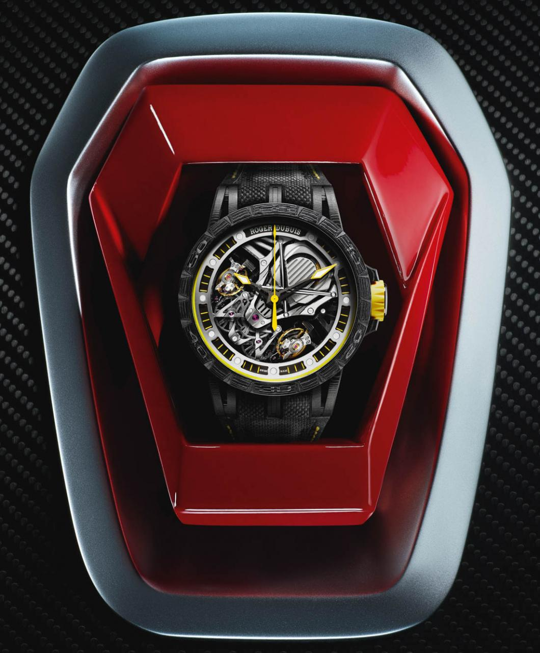 Roger Dubuis Becomes Official Partner Of Lamborghini, Launches 2 Watches With All-New Duotor Caliber