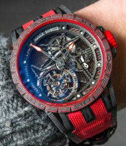Roger Dubuis Excalibur Carbon Spider Watch Hands-On Hands-On