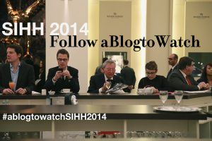 Follow aBlogtoWatch At The SIHH 2014 Watch Show Watch Industry News