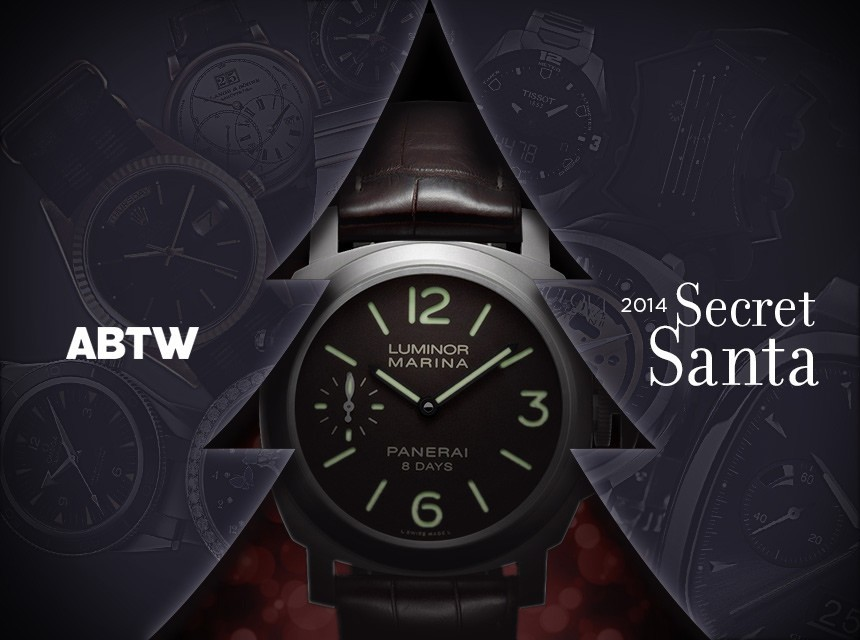 The Great Team ABTW Holiday 2014 Fantasy Secret Santa Anti-Gift-Guide Watch Gifting Experiment