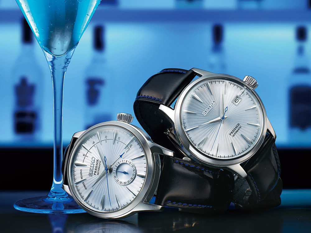 Seiko Presage SSA & SRPB 'Cocktail Time' Watches For 2017
