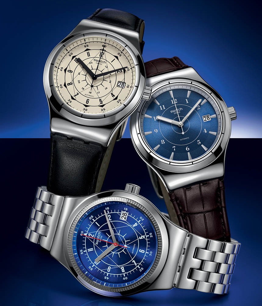 Swatch Sistem51 Irony Watch With New Models Now In Steel