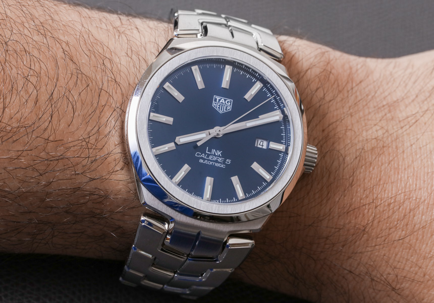 TAG Heuer Link Men Calibre 5 Watch Review