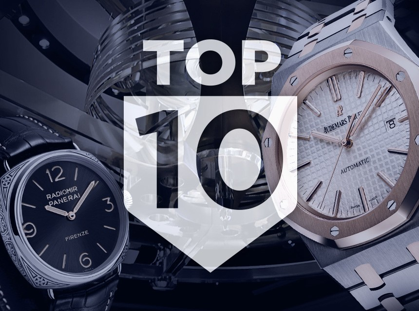 TOP 10 Watches Of SIHH 2015