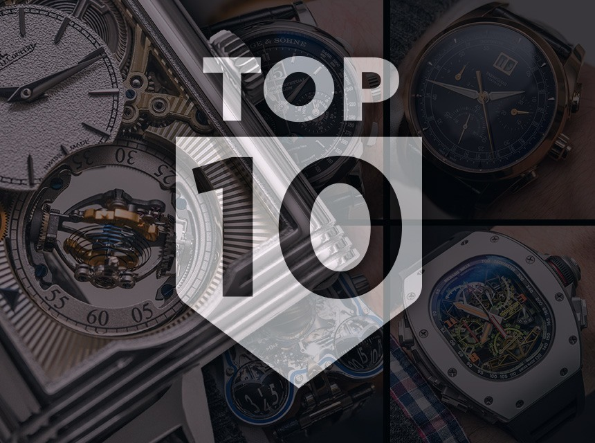 Top 10 Watches Of SIHH 2016 & Show Report