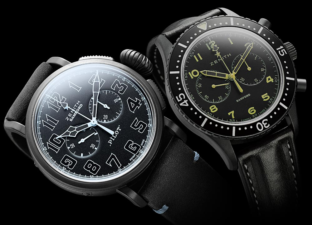 Zenith Watches Officially Customized By Bamford Watch Department