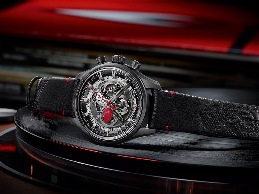 Zenith El Primero Skeleton Tribute To The Rolling Stones Watch Watch Releases