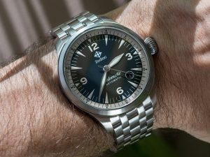 Zodiac Jetomatic Watch Review Wrist Time Reviews