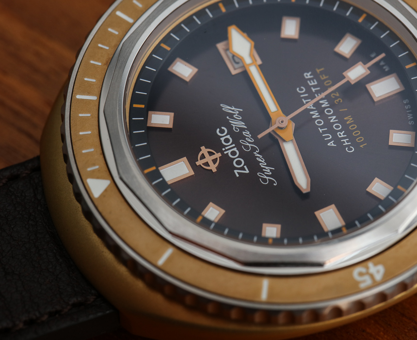 Zodiac Super Sea Wolf 68 Bronze & Other New 2016 Watches Hands-On Hands-On