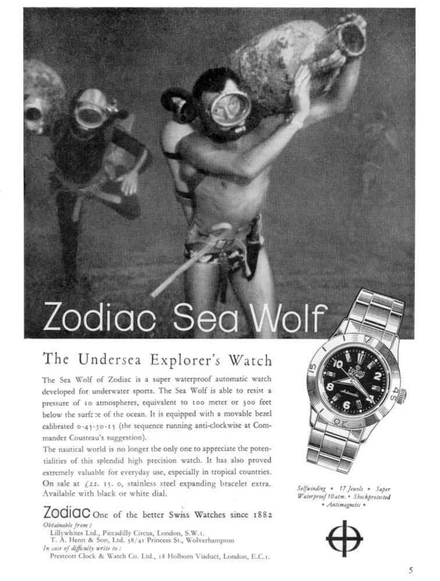 Zodiac Super Sea Wolf 53 Compression ZO9265 & ZO9264 Watch Review Wrist Time Reviews