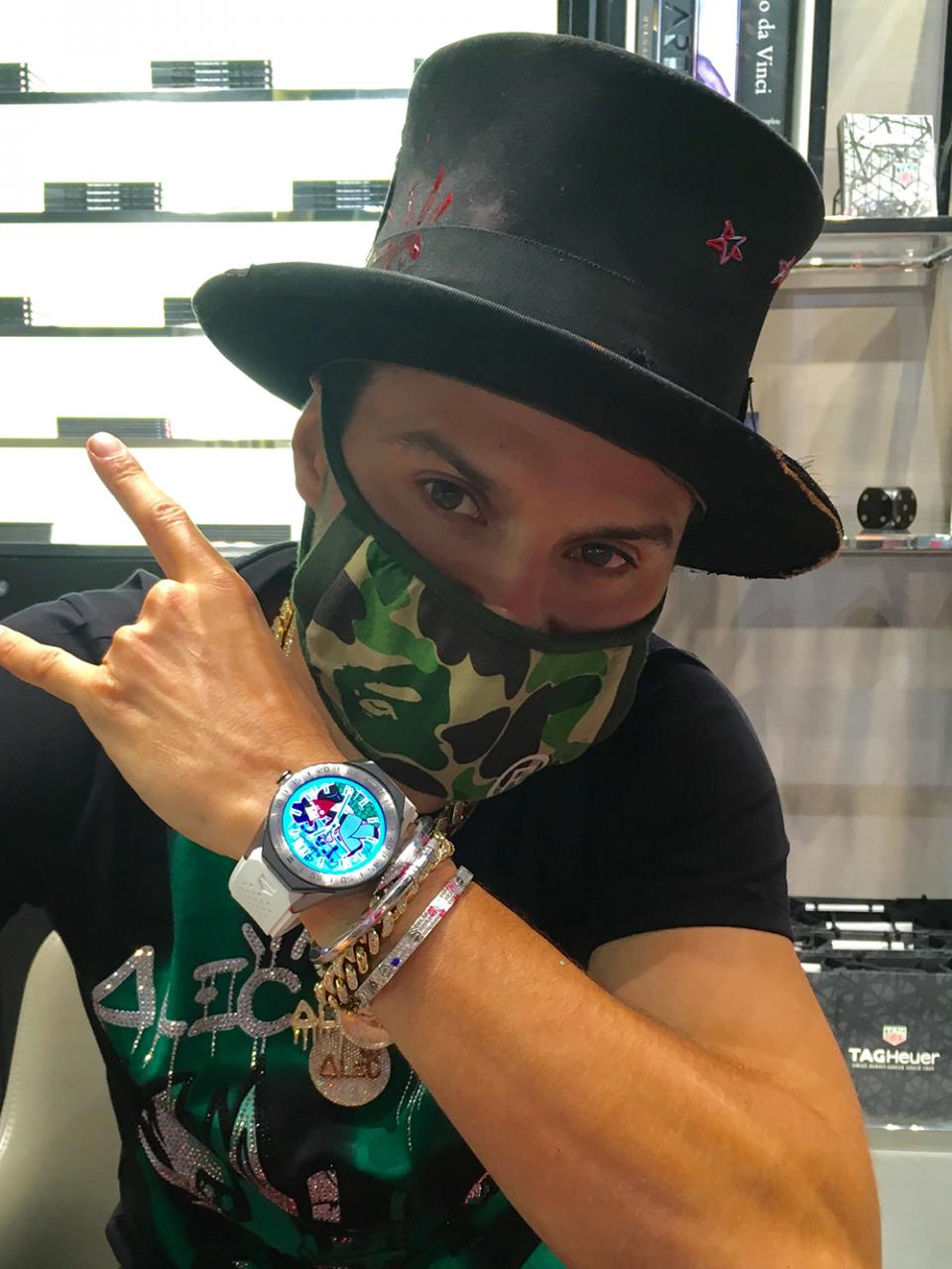 TAG Heuer Alec Monopoly Special Edition Connected Watch Unveiled At Art Basel Miami