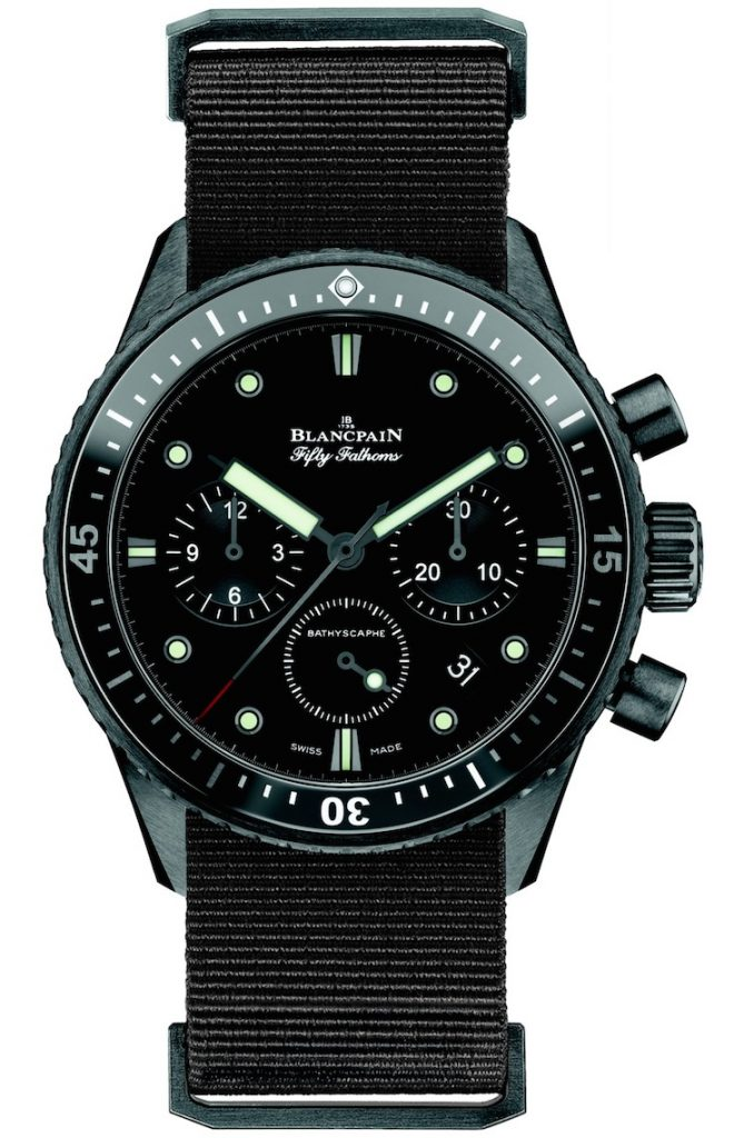 Blancpain Fifty Fathoms Bathyscaphe Chronograph Flyback Watch Watch Releases