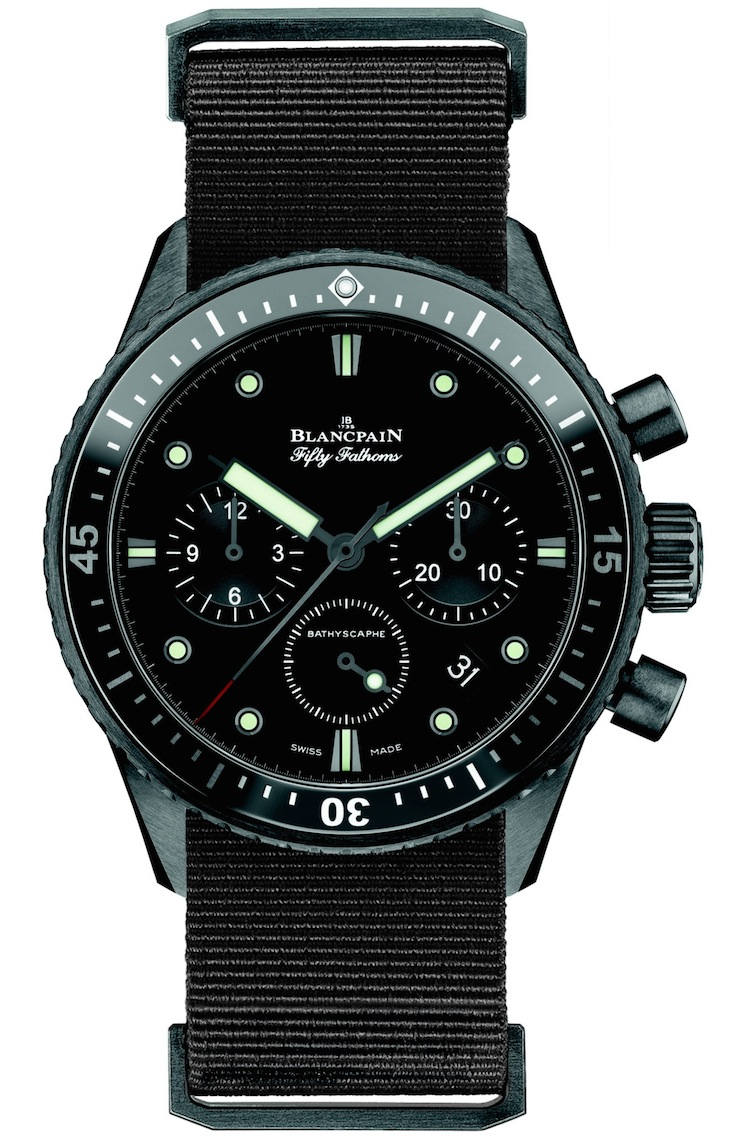 Blancpain Fifty Fathoms Bathyscaphe Chronograph Flyback Watch