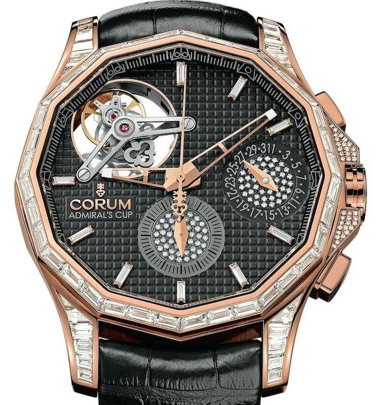 trusted Corum Chronograph Tourbillon 47 Seafender: How The Admiral's Cup Lost Its Rank men's watch under 50