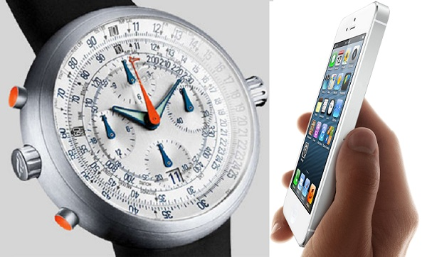 How Is The iPhone 5 Like A Luxury Watch? Feature Articles