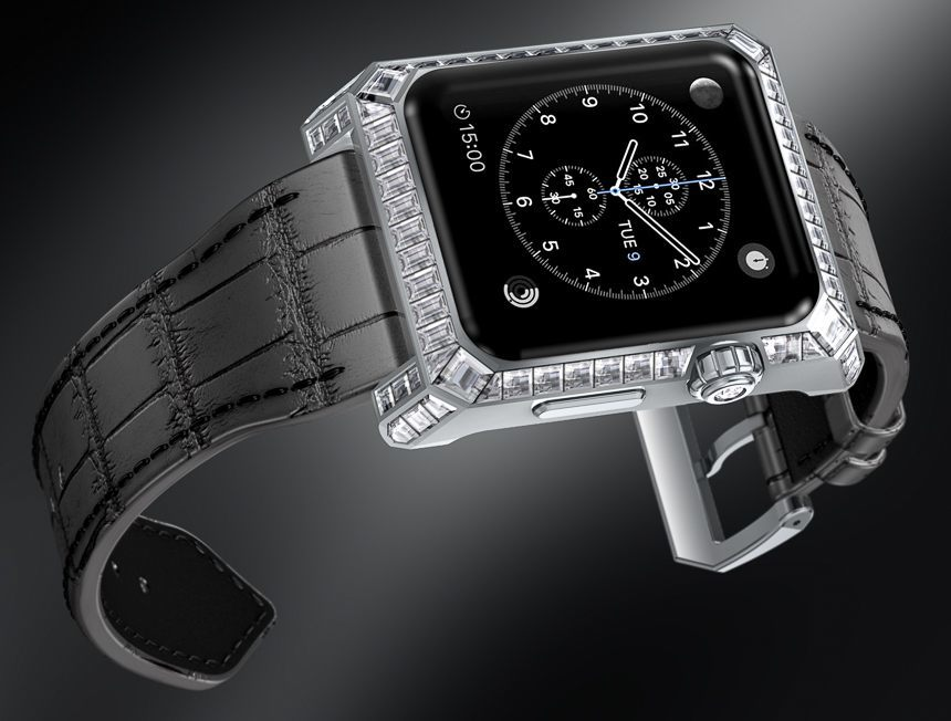 Wondering How The Swiss Luxury Industry Will Handle Smartwatches? One Cheeky Watch Maker Proposes This Option Luxury Items