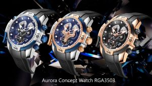 The Best Suits Your Wrist--Aurora Concept Series Elegant Complicated Watches