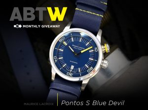 Winner Announced: Maurice Lacroix Pontos S Diver 'Blue Devil' Limited Edition Watch Giveaways