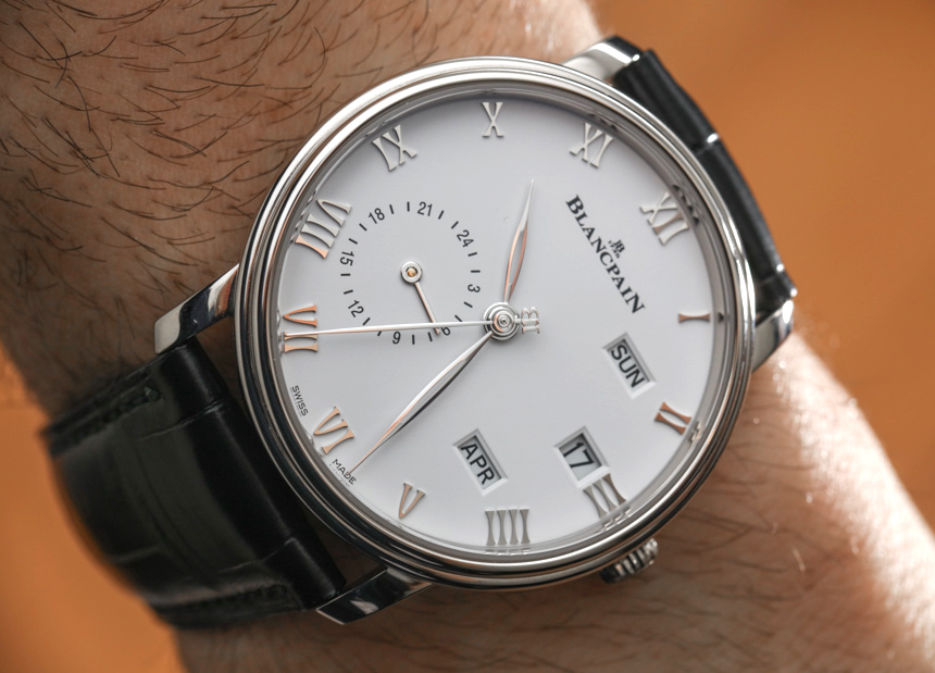 Blancpain Villeret Quantieme Annuel GMT Watch Hands-On